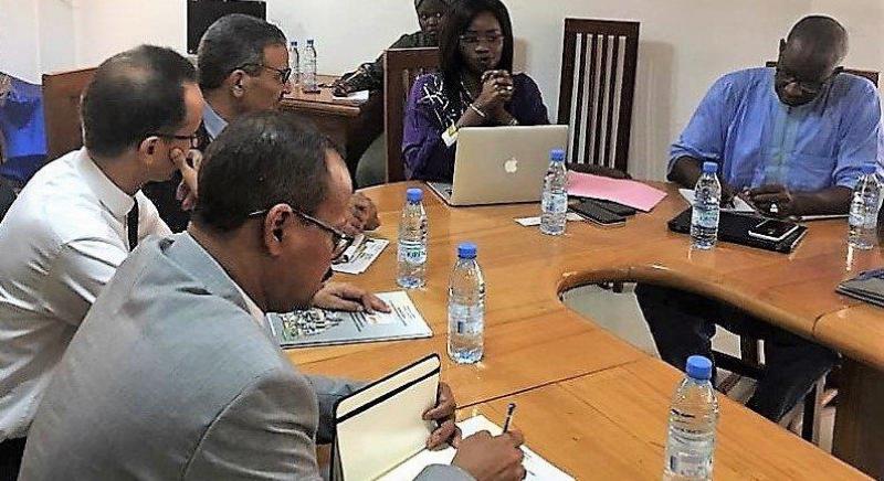 Recontre de la délégation mauritanienne avec Mme Aby SEYE, Directrice générale du 3FPT