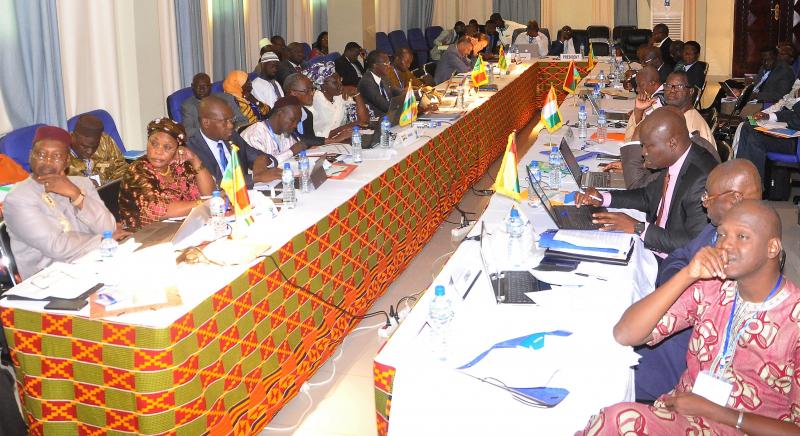 CCMEFP/UEMOA experts finalize the platform documents - Lomé, September 6-7,2017