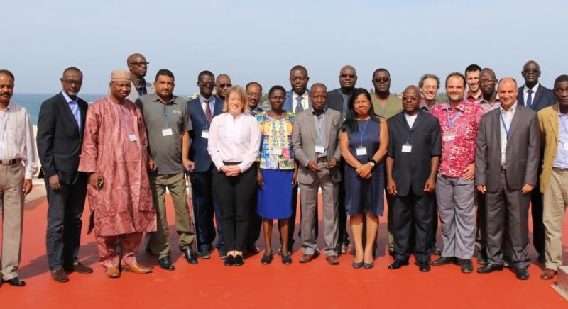 Participants of the UNEVOC-Pôle de Dakar Workshop
