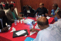 A participatory process with public and private stakeholders